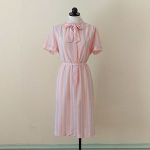 Dresses & Skirts - Vintage Pastel Rainbow Dress